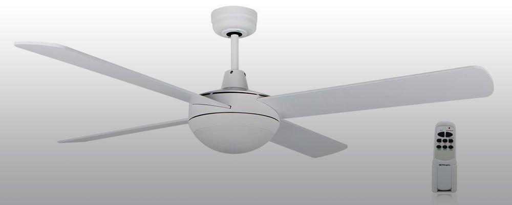 Lampara ventilador obergozo con luz led