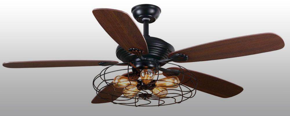 Opiniones y tipos de ventiladores techo vintage