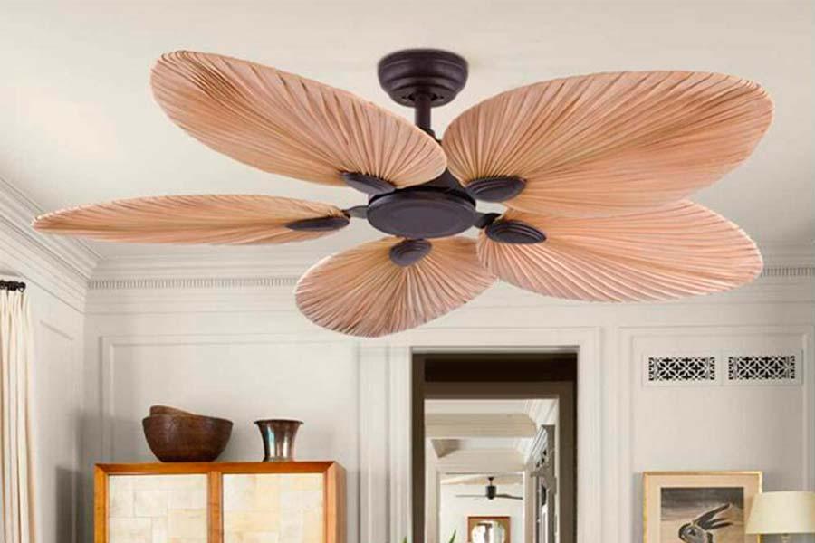 Ventilador Colonial Luz Led Gama Premium
