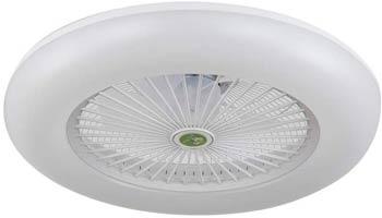 Ventilador Plafón Led de Techo Blanco Eficiente