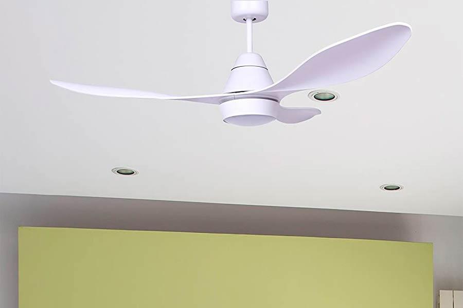 Ventilador de Techo Faro Barcelona con Luz Led Blanco