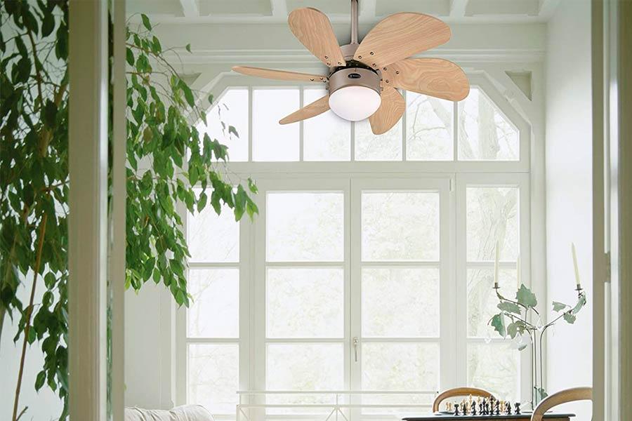 Westinghouse Turbo Swirl Ventilador de Titanio